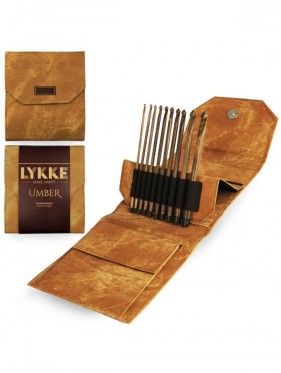 LYKKE - Umber Crochet Hook Set