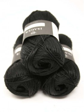 HOR Organic Linen - Ink (black)