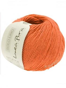 Solo Lino - Salmon Orange 43