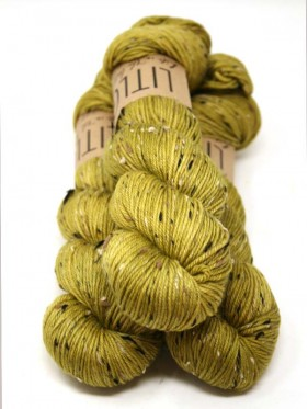 LITLG DK Tweed * - Golden Green
