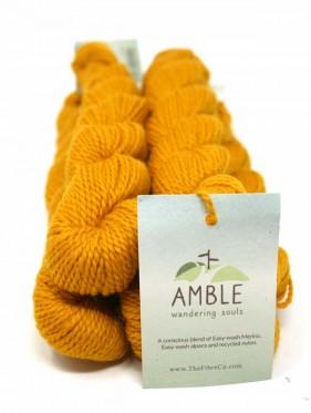 Amble - Yellow Earl Eco friendly **mini skein