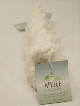 Amble - White Heathers Eco friendly **mini skein