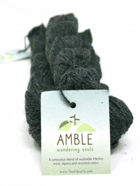 Amble - Saddleback Slate Eco friendly **mini skein