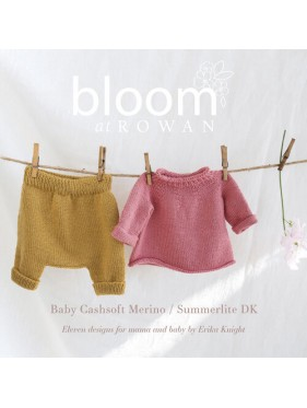 Rowan Bloom - Baby Cashsoft Merino Summerlite DK