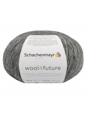 Schachenmayr - Wool4future Anthracite 98
