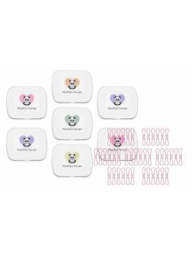 Hiya Hiya - Notion Tin with pink Safety Pins