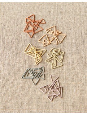 Coco Knits - Colorful Triangle Stitchmarkers