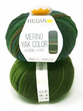 Regia - Merino Yak Premium Color 8507 Jungle gradient