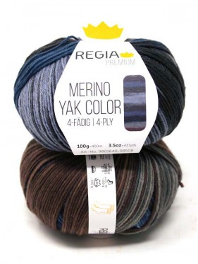 Regia - Merino Yak Premium Color 8508 Ocean gradient