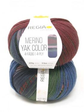 Regia - Merino Yak Premium Color 8505 Terrain gradient