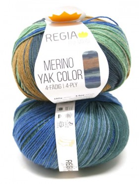 Regia - Merino Yak Premium Color 8509 Meadow in gradient