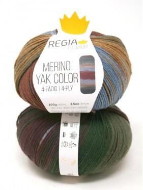 Regia - Merino Yak Premium Color 8506 Mountain gradient