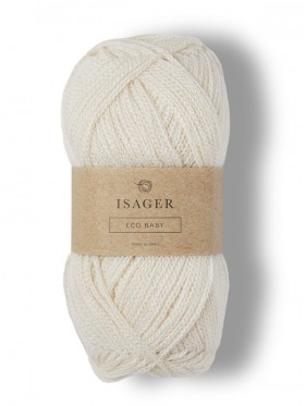 Isager Eco Baby - Natural E0