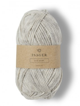 Isager Eco Baby - Light Warm Grey E2S