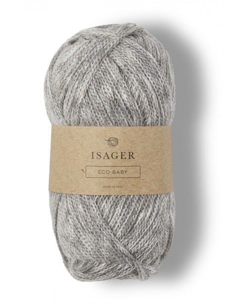 Isager Eco Baby - Medium Grey E4S