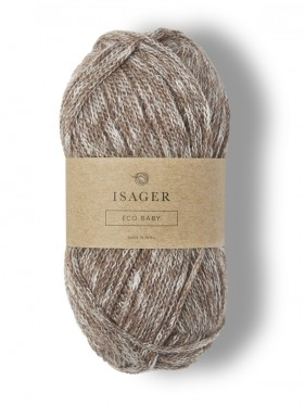 Isager Eco Baby - Brown E8S