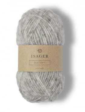 Isager Eco Soft - Light Warm Grey E2S