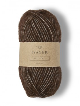 Isager Eco Soft - Brown E8S