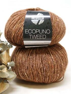 Ecopuno Tweed - 302 Brown