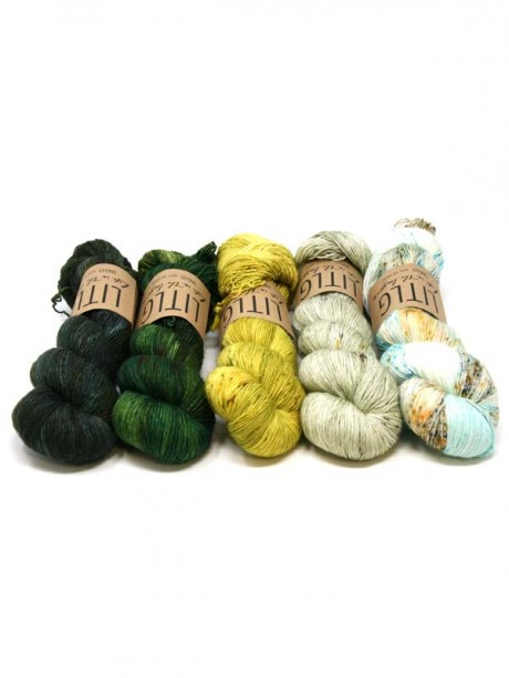 LITLG Singles - Mistery Kal Shawlography Set 5 uds BEACH HILL