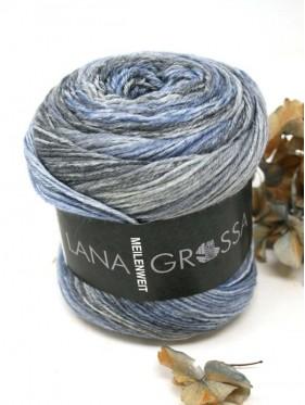Lana Grossa Sorbetto - 6256 Light / medium / dark gray / jeans / gray blue