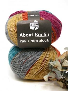 Lana Grossa About Berlin Yak Colorblock - 638