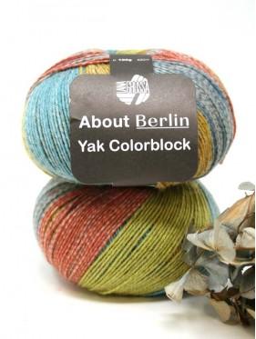 Lana Grossa About Berlin Yak Colorblock - 635