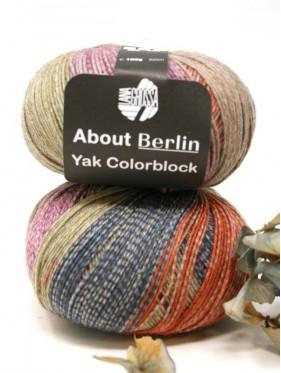 Lana Grossa About Berlin Yak Colorblock - 631