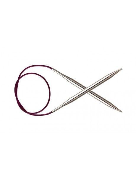Knit Pro - NOVA - Agujas circulares Metal Fijas ideal para socks, lace o ropa bebé