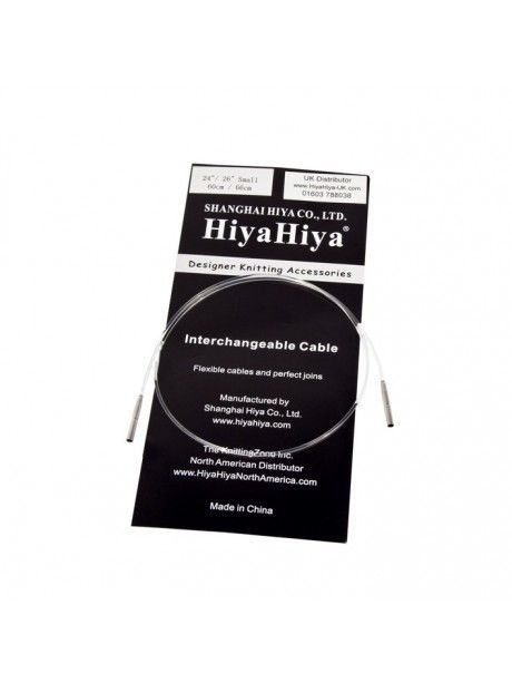 HiyaHiya Aiguille circulaire fixe en acier inoxydable 80/cm x 5,5/mm