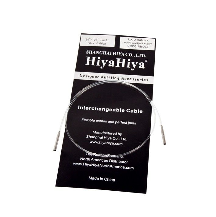 ":Interchangeable Cable Small 47/""//49/"": HiyaHiya New with LifeLine Holes"