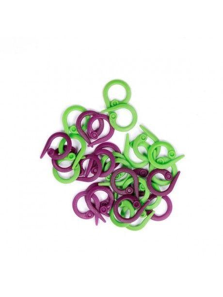 Knit Pro - Marcapuntos anilla abiertos