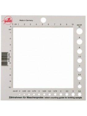 Addi - Medidor de agujas y plantilla cuenta puntos