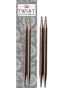 "Chiaogoo - Twist Interchangeable Metal Tips 4"" (10cms) or 5""(12cms)"