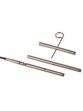 Knit Pro - Conectores Set de 3 uds. con 1 llave de cable