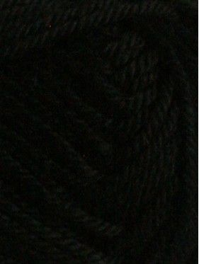 Handknit Cotton - Black 252