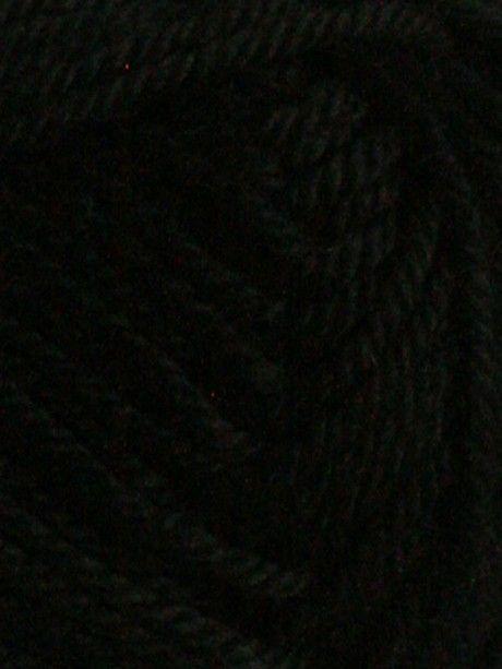 Handknit Cotton - Black 252