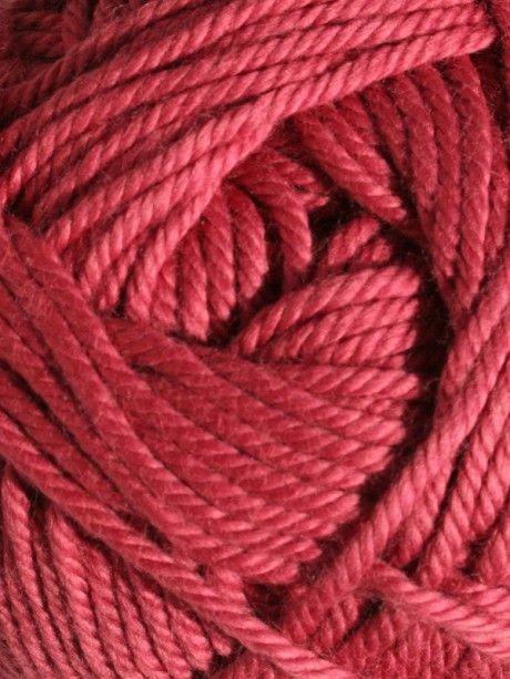 Handknit Cotton - Raspberry 356