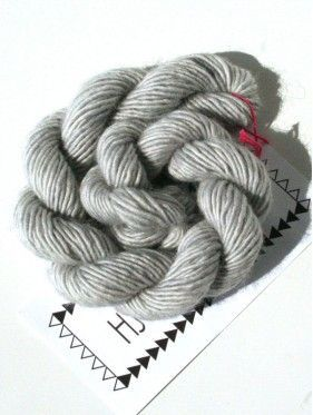 Unicorn Tails Mini Skein - Silver Fox 65