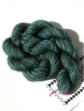 Unicorn Tails  Mini Skein - Worn Denim 233