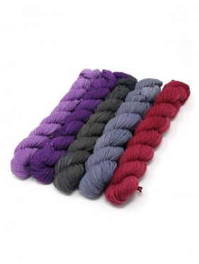 Lorna's Laces String Quintet Packs 5 mini skeins - Violin