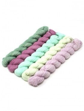 Lorna's Laces String Quintet Packs 5 mini skeins - Harp