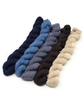 Lorna's Laces String Quintet Packs 5 mini skeins - Flute