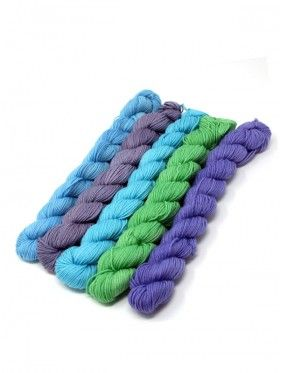 Lorna's Laces String Quintet Packs 5 mini skeins - Dulcimer