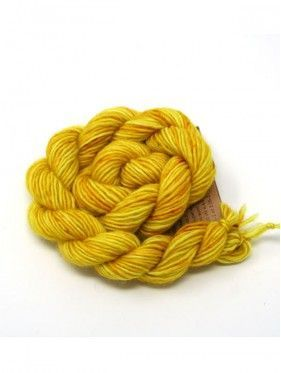 Unicorn Tails  Mini Skein  - Brass