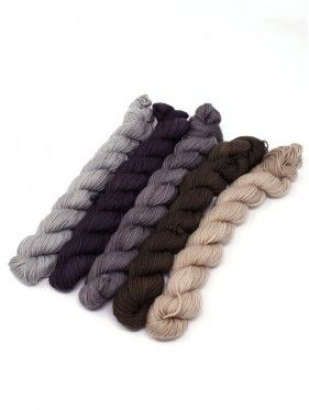 Lorna's Laces String Quintet Packs 5 mini skeins - Clarinet