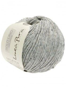 Solo Linen Melange - 102 Light Grey