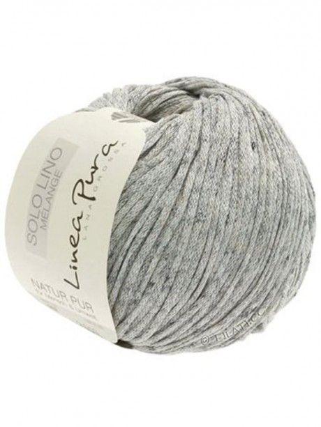 Solo Linen Melange - 102 Light Grey