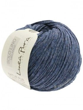 Solo Lino Melange - 107 Azul oscuro