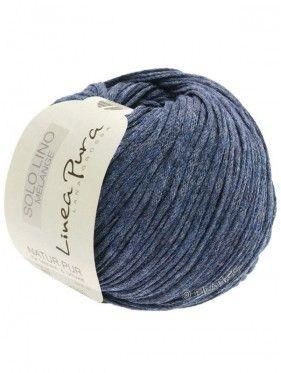 Solo Lino Melange - 107 Dark Blue